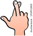 Dimision de Juande Ramos - Página 2 Stock-vector-a-close-up-of-a-male-hand-making-a-crossed-fingers-gesture-in-which-the-middle-finger-is-crossing-193951805