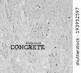 concrete vector texture... | Shutterstock .eps vector #193952597