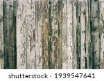 Rustic Aged Grungy Rough Wood...
