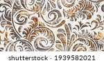 Art Floral Background With...