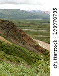 Small photo of Cliff of the Alaska Range / Cliff of the Alaska Range within Denali National Park