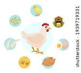 vector illustration of farm... | Shutterstock .eps vector #1939719331