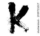 black alphabet modern. font... | Shutterstock . vector #1939721017