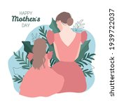 mother's day illustration with...   Shutterstock .eps vector #1939722037