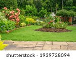 Backyard English Cottage Garden ...
