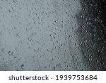 Window With Big Raindrops...