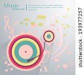 music background   Shutterstock .eps vector #193977257