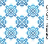 winter seamless pattern with... | Shutterstock . vector #193979291