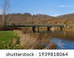 Railway Bridge Crossed The River