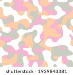seamless camouflage  pattern....   Shutterstock .eps vector #1939843381