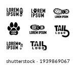 outdoor activity dog paw... | Shutterstock .eps vector #1939869067