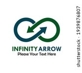 infinity arrow logo template...   Shutterstock .eps vector #1939876807