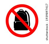 No Backpacks Allowed. It Is...