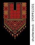 embroidery vector tatreez... | Shutterstock .eps vector #1939911331
