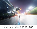 car on the road with motion... | Shutterstock . vector #193991285