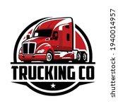 trucking logo company logo.... | Shutterstock .eps vector #1940014957