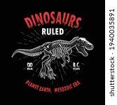 dinosaurs vector t shirt design ...   Shutterstock .eps vector #1940035891