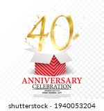 10th anniversary celebration....   Shutterstock .eps vector #1940053204