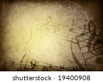 abstract grunge melody textures ... | Shutterstock . vector #19400908