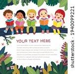 template for advertising... | Shutterstock .eps vector #1940099221