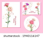 set of templates for mother's... | Shutterstock .eps vector #1940116147