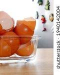 Eggshells On The Kitchen...