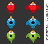 vector birds sprite asset for...