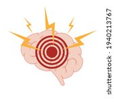 the concept of headache and...   Shutterstock .eps vector #1940213767
