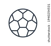 the design of the soccer ball...