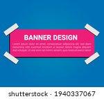 sale banner template design...   Shutterstock .eps vector #1940337067