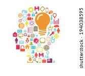 mind | Shutterstock .eps vector #194038595