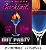vector poster template for the... | Shutterstock .eps vector #194039291