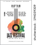 Jazz Music  Poster Background...