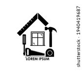 house repair logo. tools icon....   Shutterstock .eps vector #1940419687
