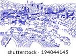 city landscape | Shutterstock .eps vector #194044145