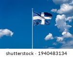 The National Flag Of Greece Is...