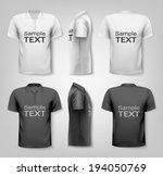 polo shirts with sample text...