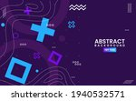 abstract colorful purple with... | Shutterstock .eps vector #1940532571
