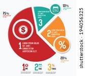 chart design chart info... | Shutterstock .eps vector #194056325