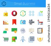 small business icon set. 20...