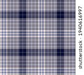 denim look indigo blue tartan.... | Shutterstock .eps vector #1940616997