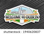 vector logo for dublin  white...   Shutterstock .eps vector #1940620837