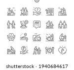 elderly services. support.... | Shutterstock .eps vector #1940684617