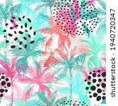 abstract summer seamless...   Shutterstock . vector #1940720347