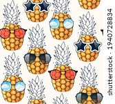 vector seamless pattern with... | Shutterstock .eps vector #1940728834