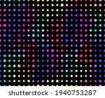 dot polka. random circle... | Shutterstock .eps vector #1940753287