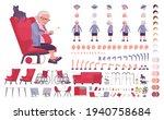 old woman  elderly person... | Shutterstock .eps vector #1940758684