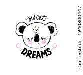 cute koala bear illustration.... | Shutterstock .eps vector #1940800447