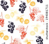 seamless pattern with colorful...   Shutterstock .eps vector #194081711