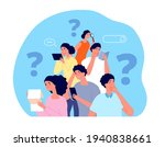 people looking answer. team... | Shutterstock .eps vector #1940838661